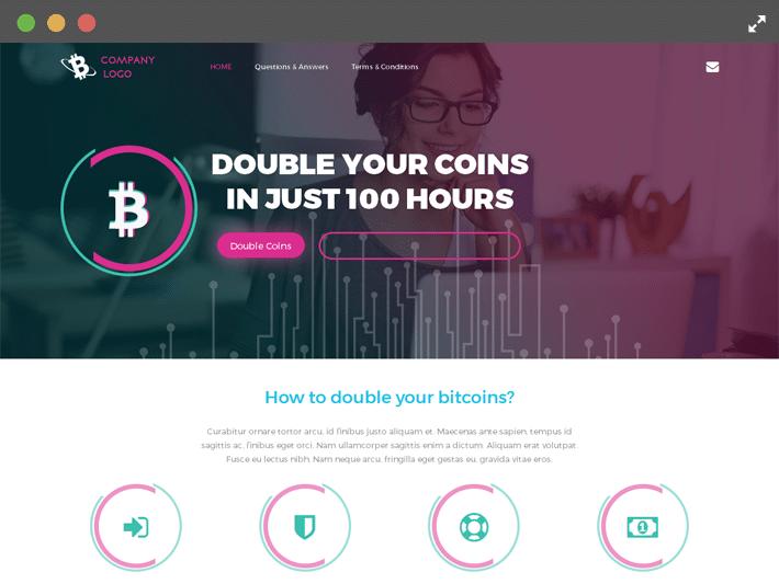 Bitcoin Investment Doubler Script