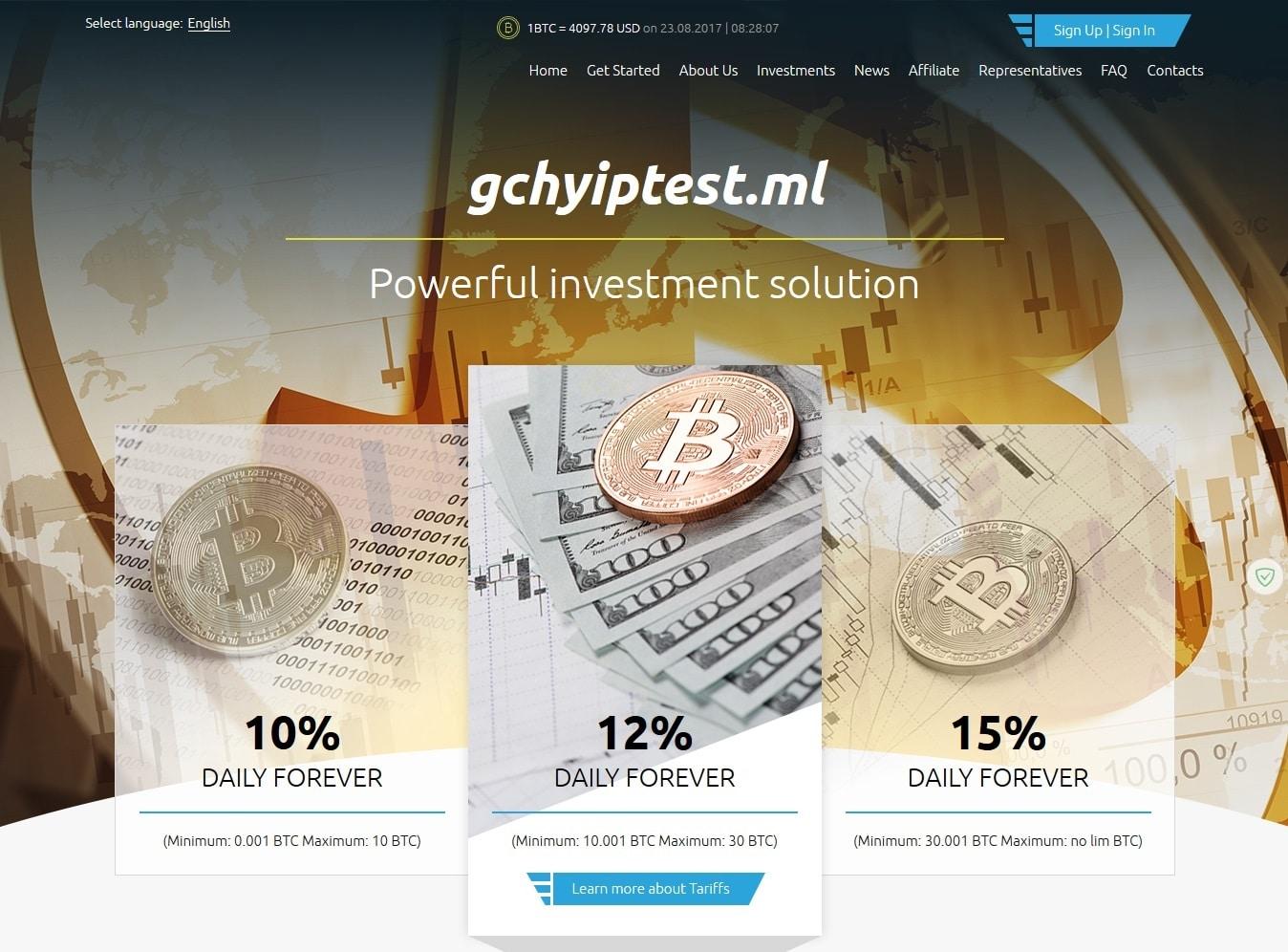 Premium Bitcoin Hyip Script Style 2