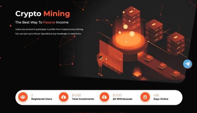 Premium Bitcoin Hyip Script With Mining Theme V4