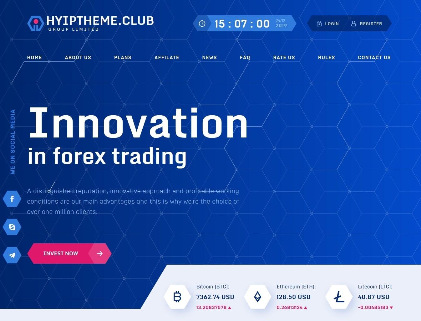Premium Bitcoin Hyip Script Custom Design 9