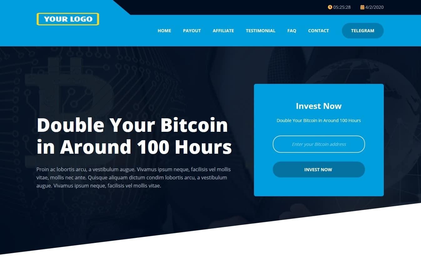 Bitcoin Doubler Script Template S04