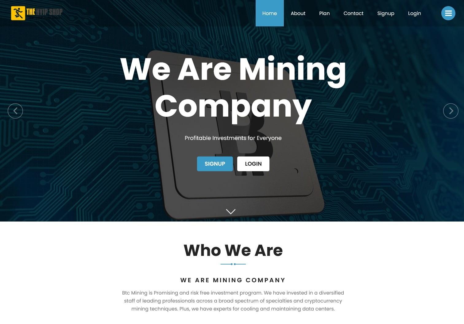 Bitcoin Altcoin Mining Script